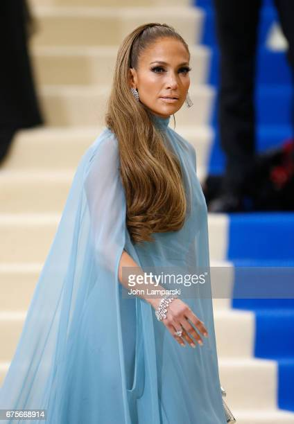 Jennifer Lopez attends 'Rei Kawakubo/Comme des Garcons Art Of The InBetween' Costume Institute Gala at The Metropolitan Museum of Art on May 1 2017...