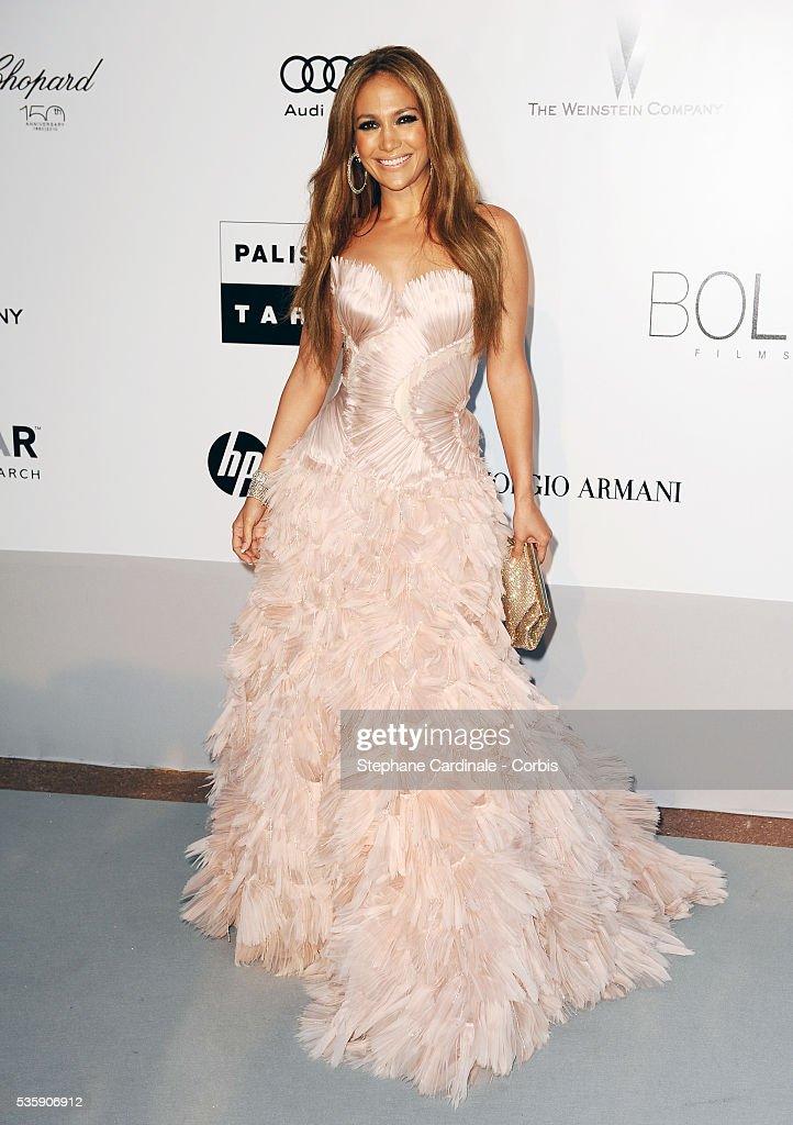 Jennifer Lopez attends the '2010 amfAR's Cinema Against AIDS' Gala - Arrivals