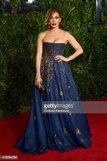 Jennifer Lopez attends the 2015 Tony Awards at Radio City Music Hall on June 7 2015 in New York City