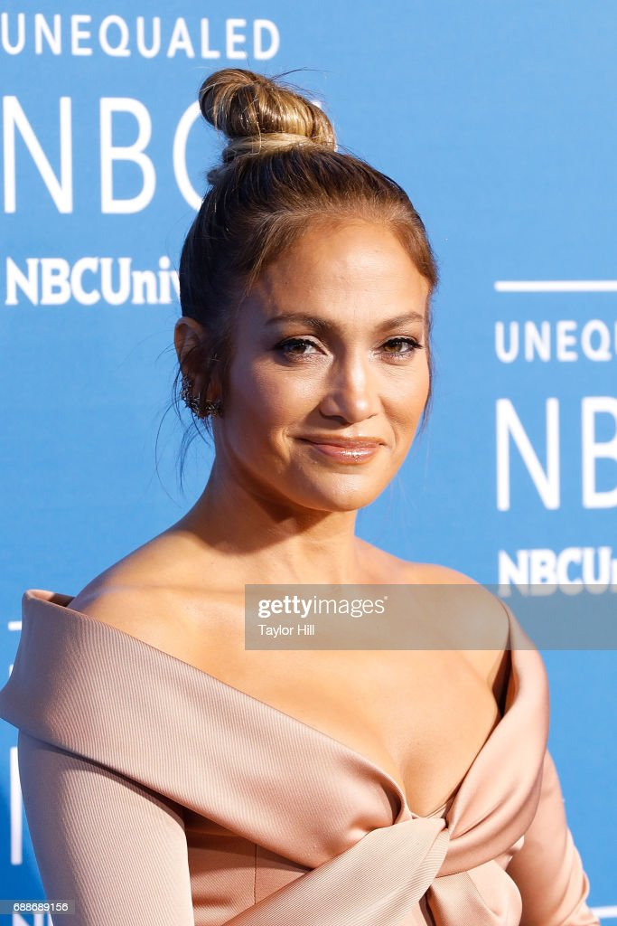 Jennifer Lopez attends the 2017 NBCUniversal Upfront at Radio City Music Hall on May 15, 2017 in New York City.