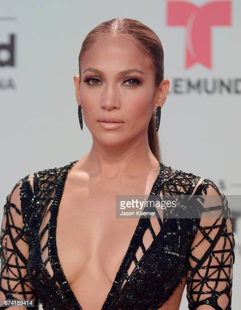 Jennifer Lopez attends the Billboard Latin Music Awards at Watsco Center on April 27 2017 in Miami Florida