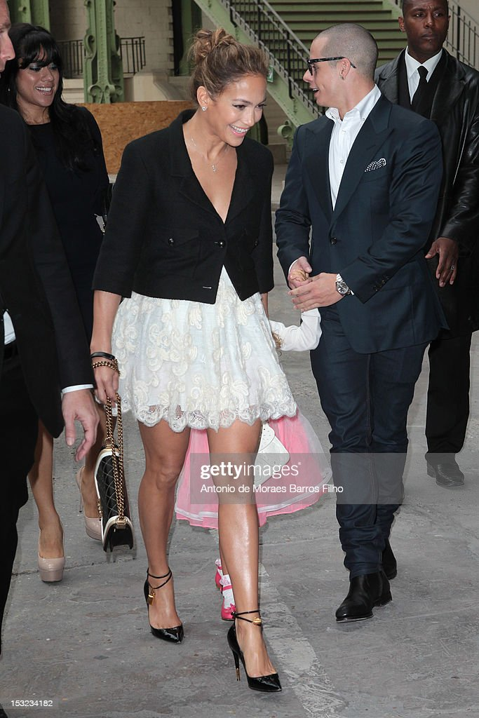 <a gi-track='captionPersonalityLinkClicked' href=/galleries/search?phrase=Jennifer+Lopez&family=editorial&specificpeople=201784 ng-click='$event.stopPropagation()'>Jennifer Lopez</a> attends the Chanel Photocall - Paris Fashion Week Womenswear Spring / Summer 2013 as part of Paris Fashion Week at Grand Palais on October 2, 2012 in Paris, France.