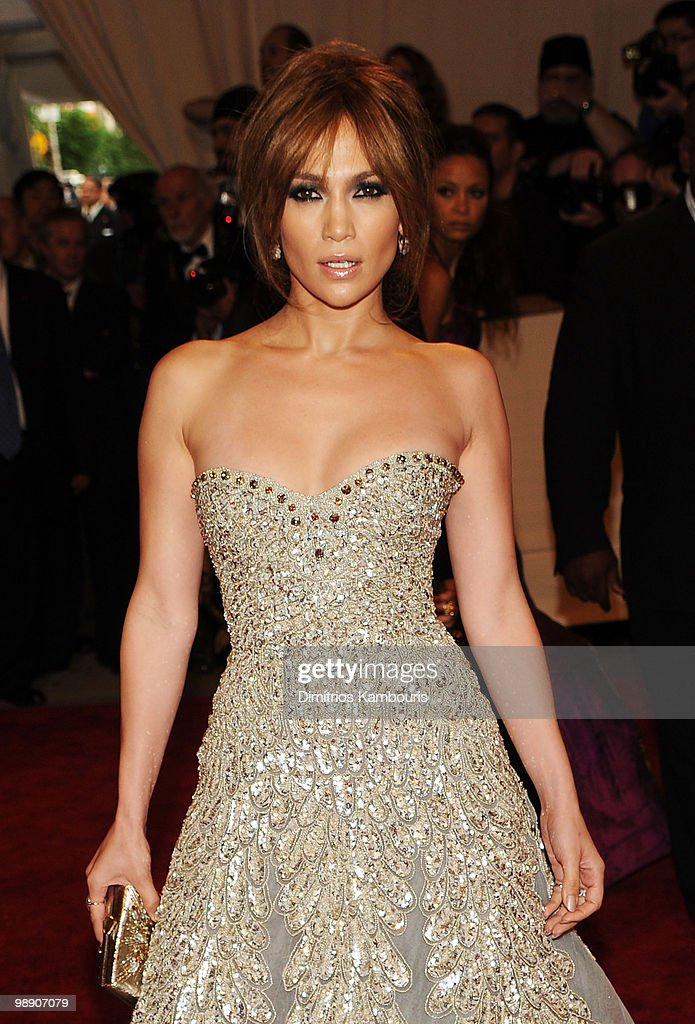 Jennifer Lopez attends the Costume Institute Gala Benefit to celebrate the opening of the 'American Woman: Fashioning a National Identity' exhibition at The Metropolitan Museum of Art on May 3, 2010 in New York City.