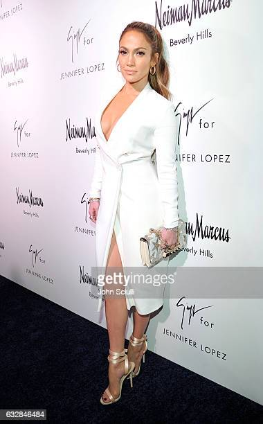 Jennifer Lopez attends the Giuseppe for Jennifer Lopez Launch at Neiman Marcus Beverly Hills on January 26 2017 in Beverly Hills California