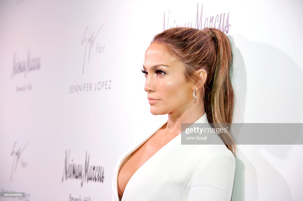 Jennifer Lopez attends the Giuseppe for Jennifer Lopez Launch at Neiman Marcus Beverly Hills on January 26, 2017 in Beverly Hills, California.