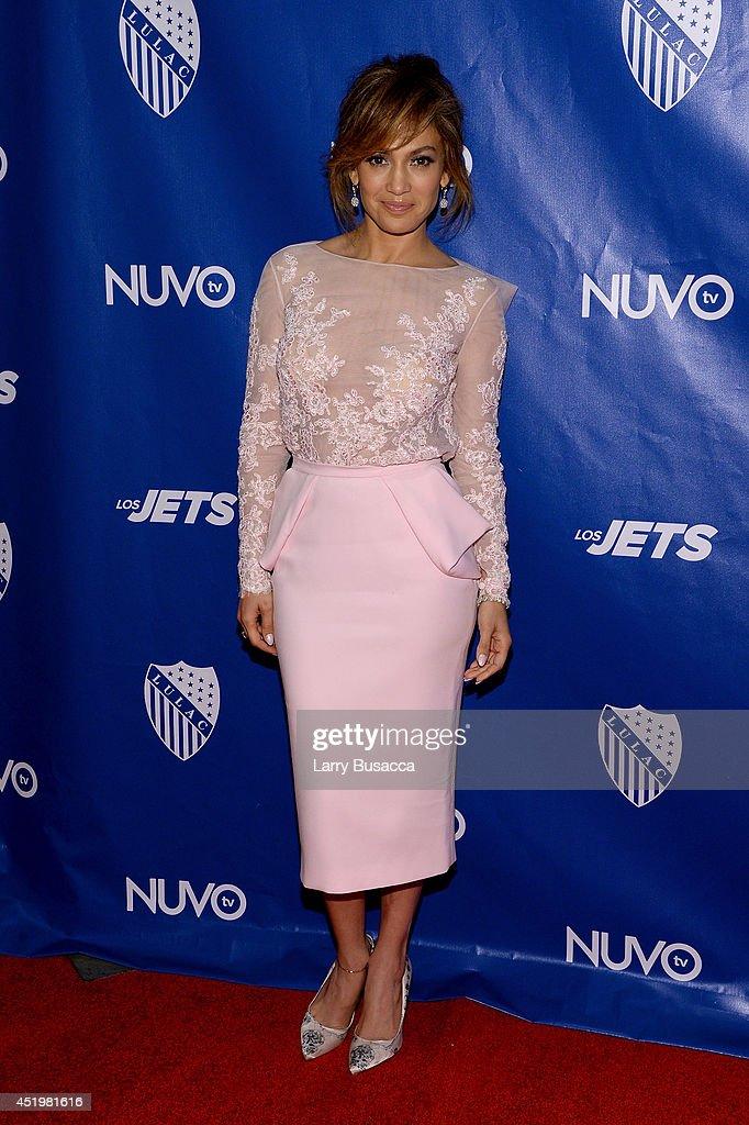 Jennifer Lopez attends the LULAC/NUVOtv Unity Luncheon With Jennifer Lopez at New York Hilton Midtown on July 10, 2014 in New York City.