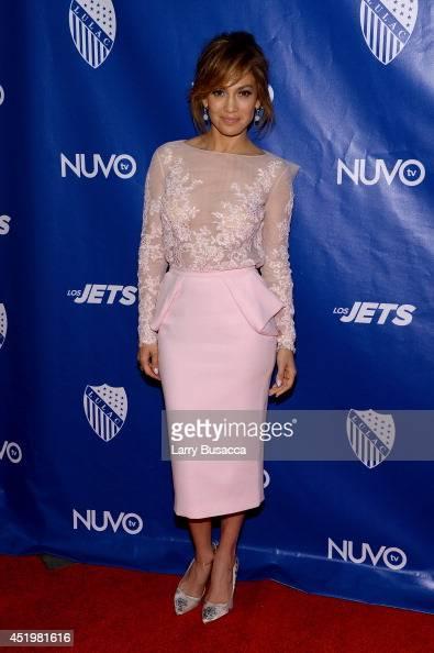 Jennifer Lopez attends the LULAC/NUVOtv Unity Luncheon With Jennifer Lopez at New York Hilton Midtown on July 10 2014 in New York City