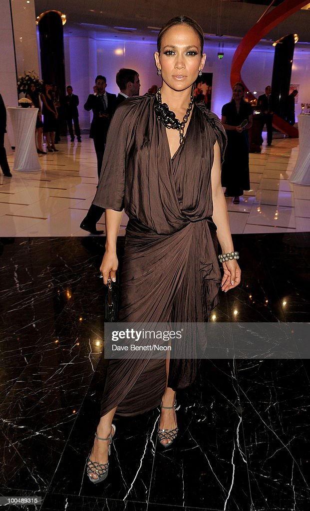 Jennifer Lopez attends the NEON Charity Gala in aid of the IRIS Foundation at the Capital City on May 24, 2010 in Moscow, Russia.