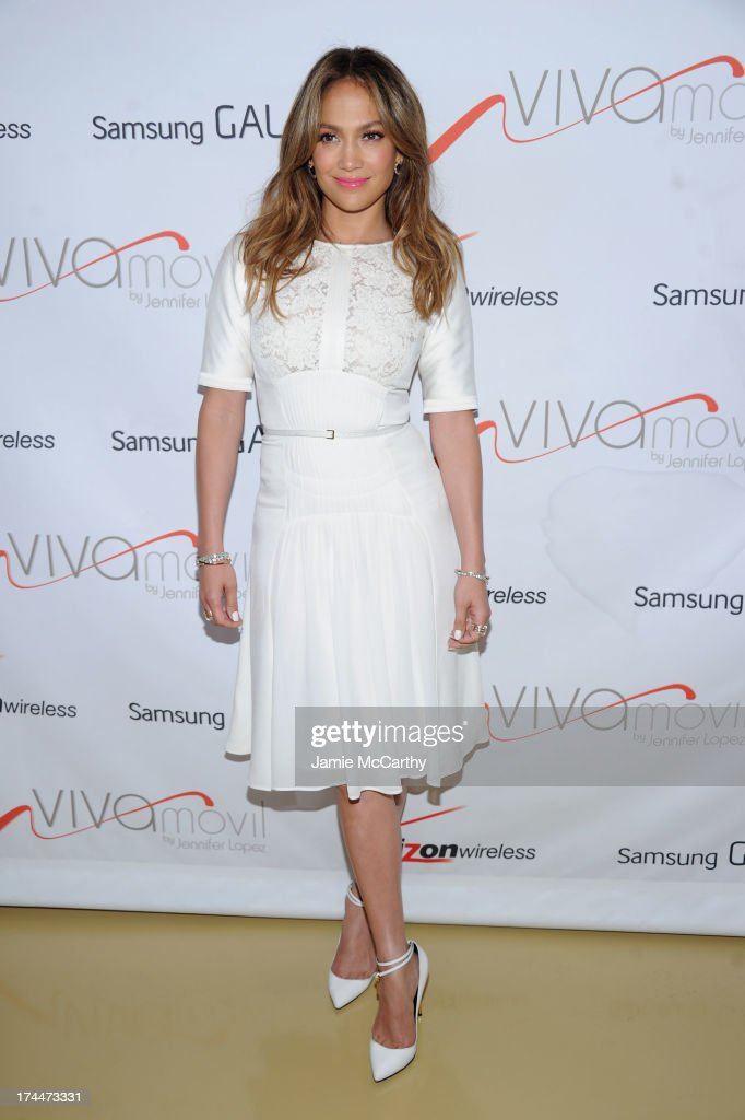 <a gi-track='captionPersonalityLinkClicked' href=/galleries/search?phrase=Jennifer+Lopez&family=editorial&specificpeople=201784 ng-click='$event.stopPropagation()'>Jennifer Lopez</a> attends the opening of Viva Movil By <a gi-track='captionPersonalityLinkClicked' href=/galleries/search?phrase=Jennifer+Lopez&family=editorial&specificpeople=201784 ng-click='$event.stopPropagation()'>Jennifer Lopez</a> flagship store on July 26, 2013 in New York City.