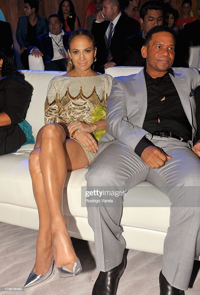 Jennifer Lopez attends the Premios Juventud 2013 at Bank United Center on July 18, 2013 in Miami, Florida.