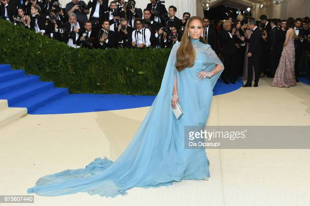 Jennifer Lopez attends the 'Rei Kawakubo/Comme des Garcons Art Of The InBetween' Costume Institute Gala at Metropolitan Museum of Art on May 1 2017...