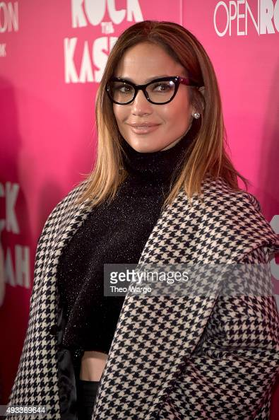 Jennifer Lopez attends the 'Rock The Kasbah' New York Premiere at AMC Loews Lincoln Square 13 theater on October 19 2015 in New York City