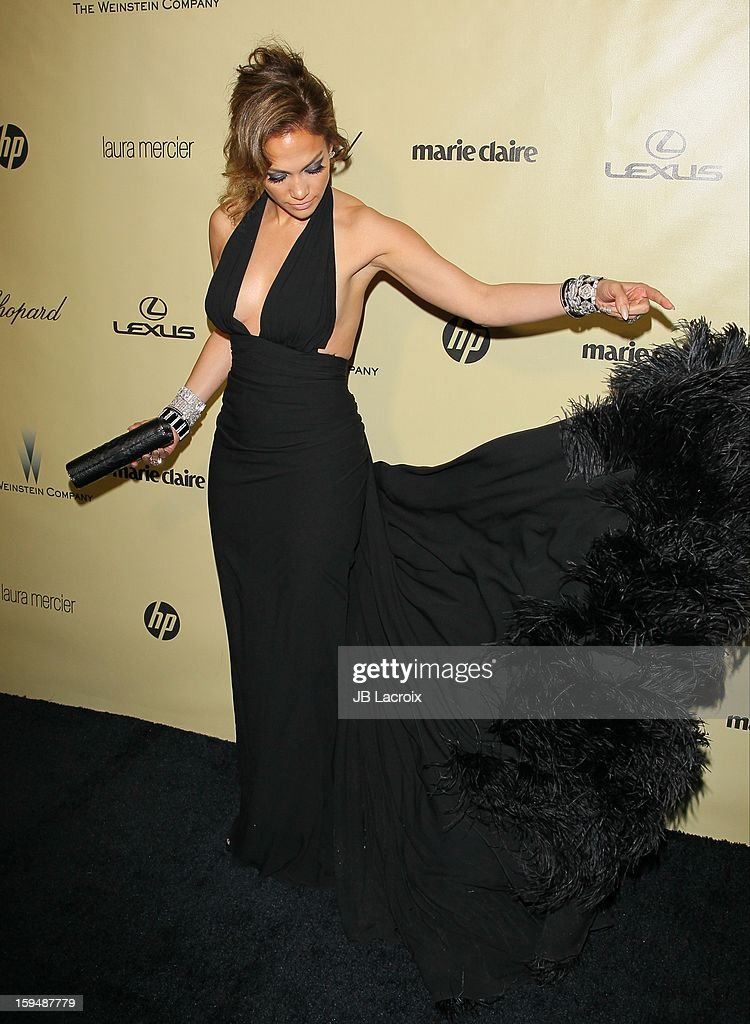 <a gi-track='captionPersonalityLinkClicked' href=/galleries/search?phrase=Jennifer+Lopez&family=editorial&specificpeople=201784 ng-click='$event.stopPropagation()'>Jennifer Lopez</a> attends The Weinstein Company's 2013 Golden Globes After Party at The Beverly Hilton Hotel on January 13, 2013 in Beverly Hills, California.