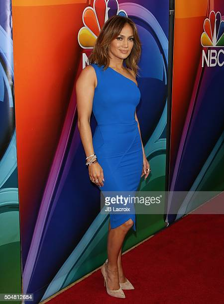 Jennifer Lopez attends the Winter TCA Tour NBCUniversal Press Tour at the Langham Huntington Hotel on January 13 2016 in Pasadena California