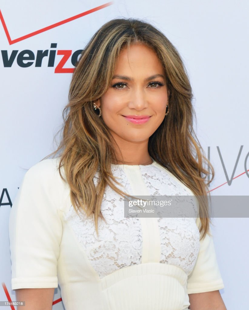 Jennifer Lopez attends Viva Movil By Jennifer Lopez Flagship Store Opening at Viva Movil on July 26, 2013 in New York City.
