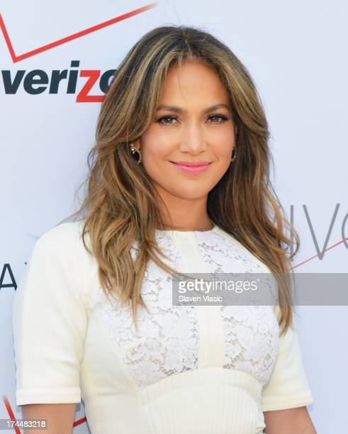 Jennifer Lopez attends Viva Movil By Jennifer Lopez Flagship Store Opening at Viva Movil on July 26 2013 in New York City