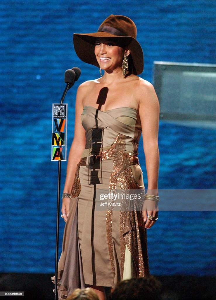 Jennifer Lopez during 2004 MTV Video Music Awards - Show at American Airlines Arena in Miami, Florida, United States.