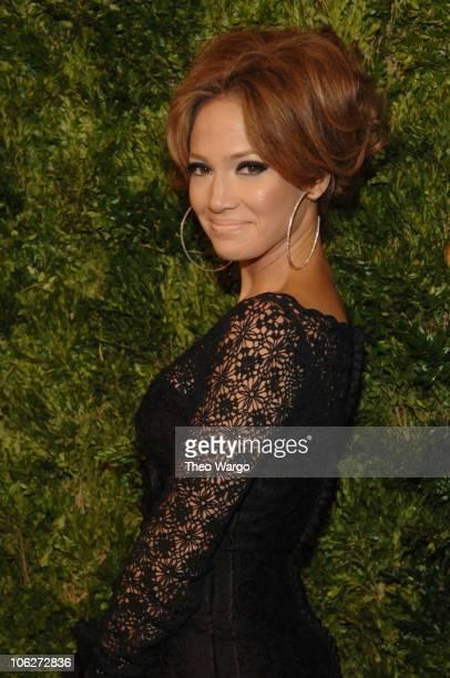 Jennifer Lopez during CFDA 7th on Sale KickOff Arrivals at Splashlight Studios in New York City New York United States
