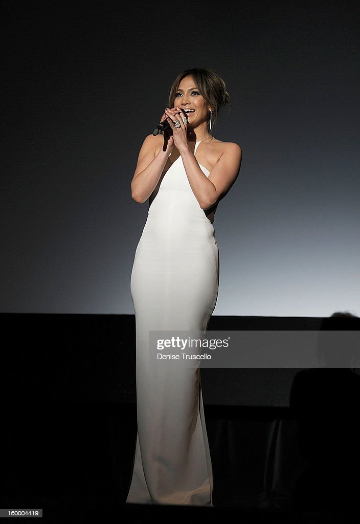<a gi-track='captionPersonalityLinkClicked' href=/galleries/search?phrase=Jennifer+Lopez&family=editorial&specificpeople=201784 ng-click='$event.stopPropagation()'>Jennifer Lopez</a> during FilmDistrict's 'Parker'premiere at Planet Hollywood Casino Resort on January 24, 2013 in Las Vegas, Nevada.