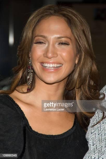 Jennifer Lopez during Jennifer Lopez and Marc Anthony Attend the United Nations Gala Awards Dinner at United Nations in New York City New York United...
