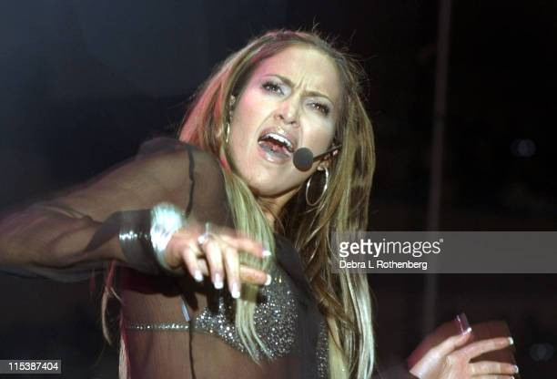 Jennifer Lopez during Jennifer Lopez Performs At The Annual Z100 Jingle Ball Concert at Madison Square Garden in New York City New York United States