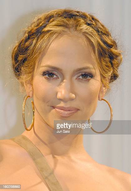 Jennifer Lopez during Jennifer Lopez 'Rebirth' and 'Shall We Dance' Tokyo Photocall at Cerulean Tower Tokyu Hotel in Tokyo Japan
