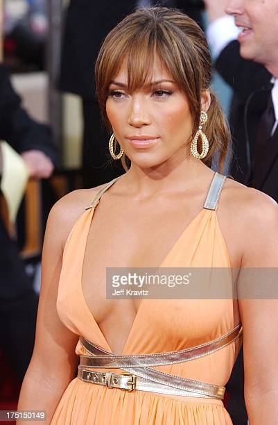 Jennifer Lopez during The 61st Annual Golden Globe Awards Arrivals at The Beverly Hilton Hotel in Beverly Hills California United States