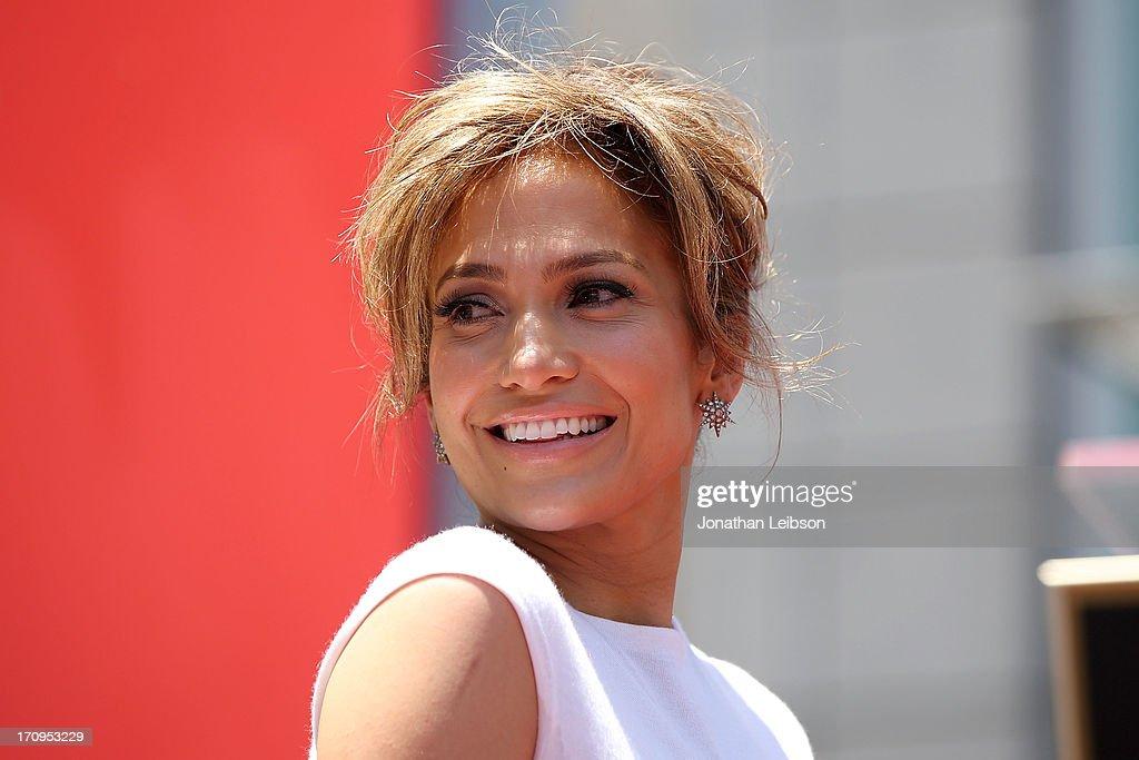 <a gi-track='captionPersonalityLinkClicked' href=/galleries/search?phrase=Jennifer+Lopez&family=editorial&specificpeople=201784 ng-click='$event.stopPropagation()'>Jennifer Lopez</a> Honored With 2,500th Star On The Hollywood Walk Of Fame on June 20, 2013 in Hollywood, California.