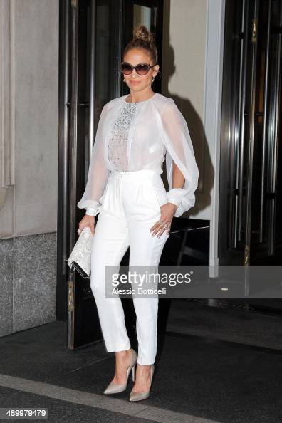 Jennifer Lopez is seen leaving her hotel on May 12 2014 in New York City