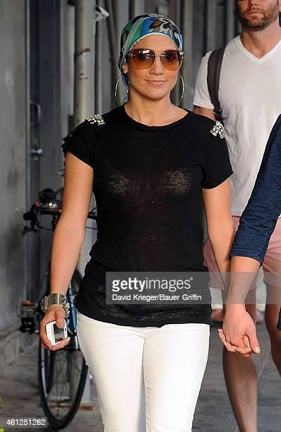 Jennifer Lopez is seen on July 22 2012 in New York City
