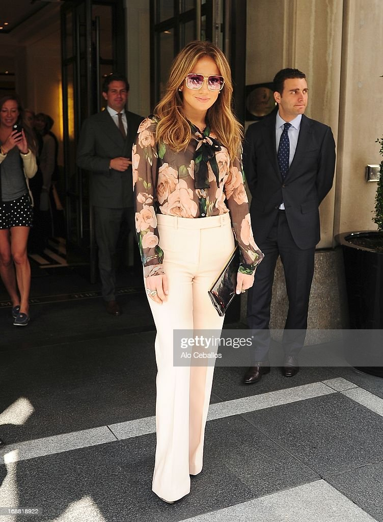 Jennifer Lopez is seen on May 15 2013 in New York City