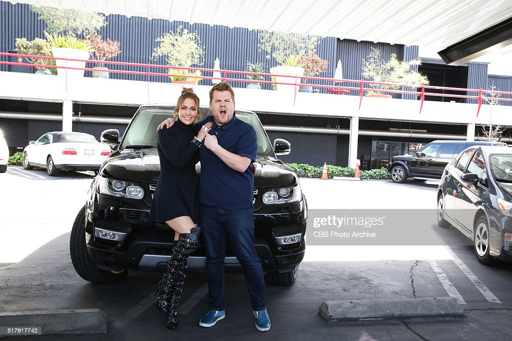 Jennifer Lopez joins James Corden for Carpool Karaoke on THE LATE LATE SHOW CARPOOL KARAOKE PRIMETIME SPECIAL airing Tuesday March 29th 2016 on The...