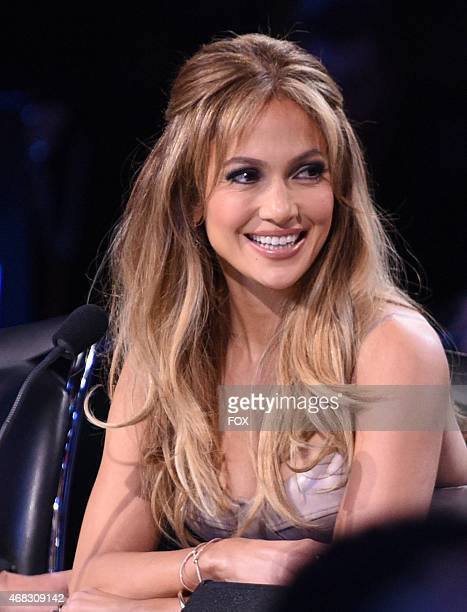 Jennifer Lopez on AMERICAN IDOL XIV airing Wednesday March 25 on FOX © 2015 FOX Broadcasting