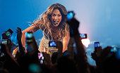Jennifer Lopez performs at Belgrade Arena on November 20 2012 in Belgrade Serbia