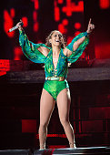 Jennifer Lopez performs at Orchard Beach on June 4 2014 in Bronx New York
