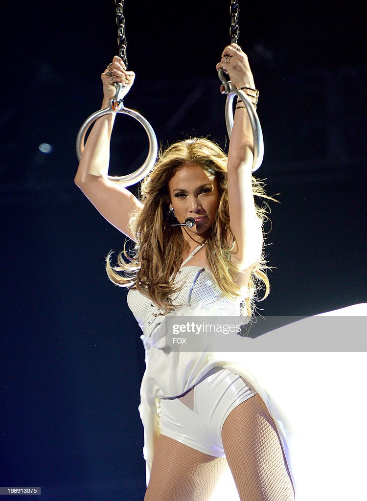 Jennifer Lopez performs onstage at FOX's 'American Idol' Season 12 Live Finale Show at Nokia Theatre L.A. Live on May 16, 2013 in Los Angeles, California.