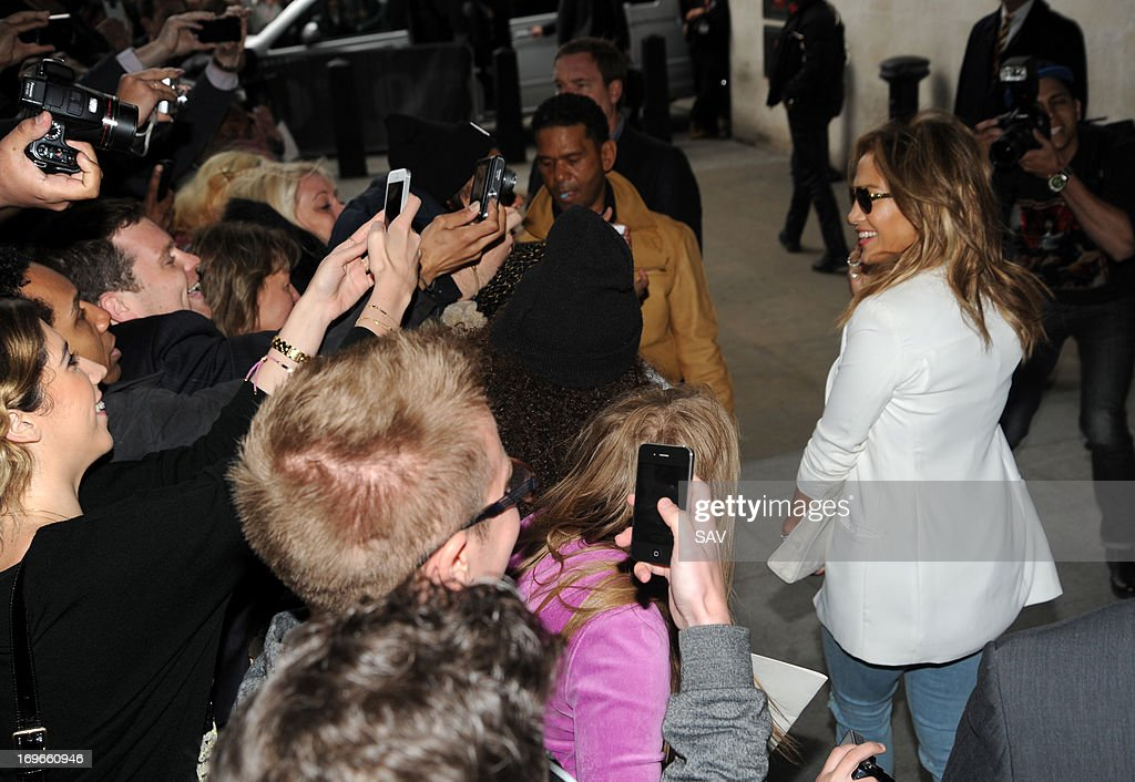 <a gi-track='captionPersonalityLinkClicked' href=/galleries/search?phrase=Jennifer+Lopez&family=editorial&specificpeople=201784 ng-click='$event.stopPropagation()'>Jennifer Lopez</a> pictured at Radio 1 on May 30, 2013 in London, England.