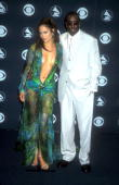 Jennifer Lopez Puff Daddy at the Grammys in Los Angeles California on 2232000 at the Staple Center in Los Angeles