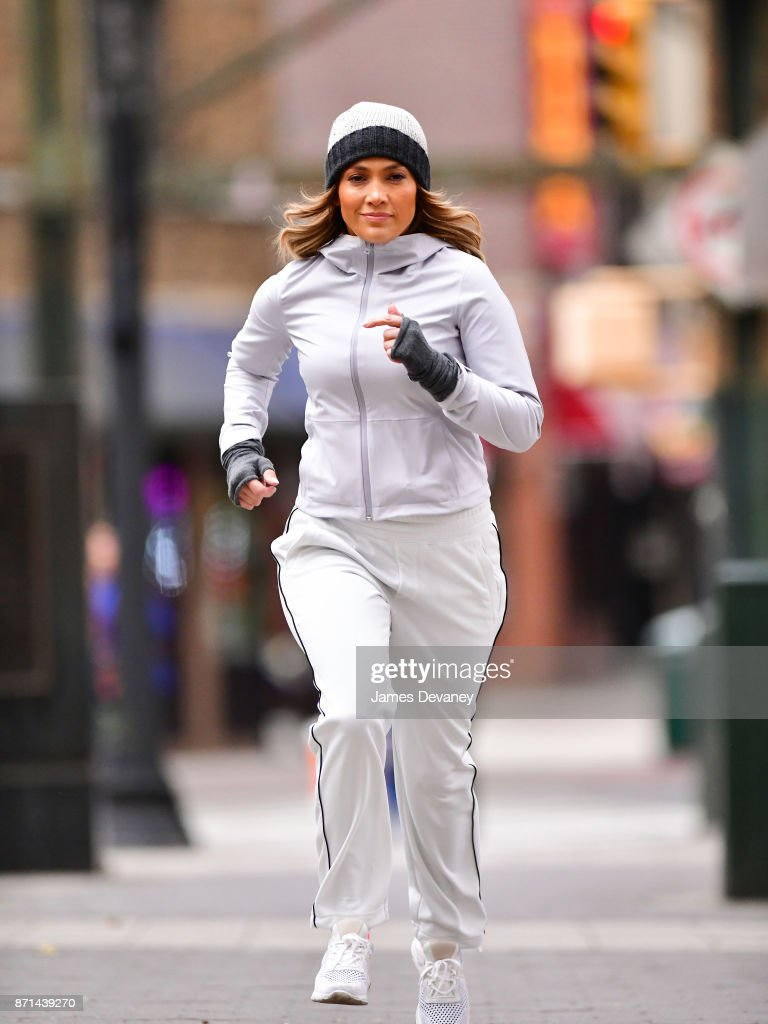 "Jennifer Lopez was on the run in Queens shooting ""Second Act"""