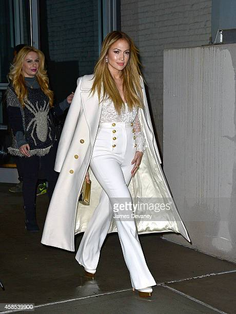 Jennifer Lopez seen on the streets of Manhattan on November 6 2014 in New York City