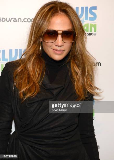 Jennifer Lopez visits Elvis Duran Z100 Morning Show at Z100 Studio on May 8 2013 in New York City