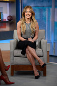 AMERICA Jennifer Lopez visits GOOD MORNING AMERICA 1/19/15 airing on the ABC Television Network