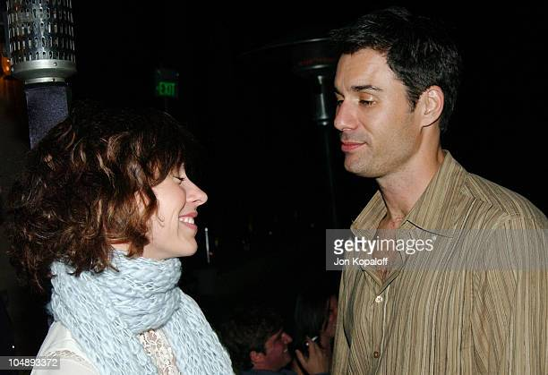 Jennifer Love Hewitt and Eric McCormack during Endeavor PreParty Celebrating the 2003 Emmy Awards at Private Residence in Beverly Hills California...