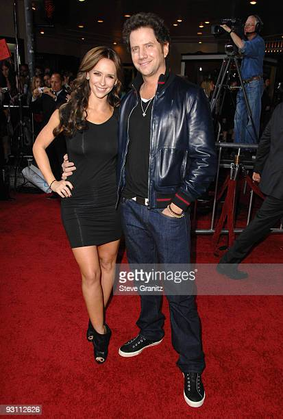 Jennifer Love Hewitt and Jamie Kennedy the premiere of Summit Entertainment's 'The Twilight Saga New Moon' on November 16 2009 in Westwood California