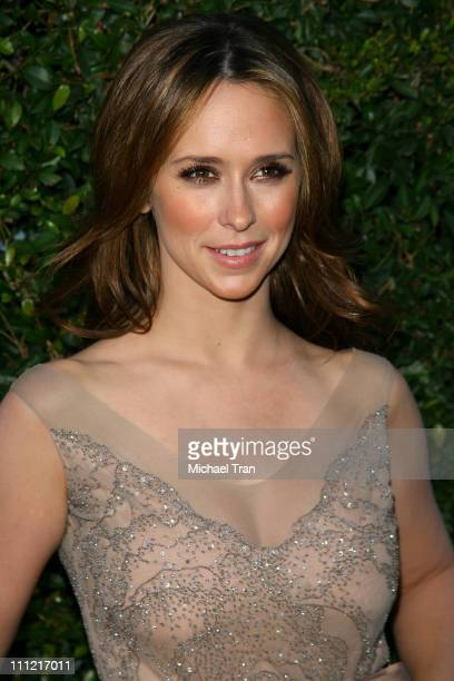 Jennifer Love Hewitt arrives at the 2007 Spike TV Scream Awards at The Greek Theater on October 19 2007 in Los Angeles California