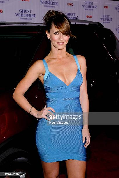 Jennifer Love Hewitt attends the 'Ghost Whisperer' 100th episode celebration at XIV on March 1 2010 in West Hollywood California