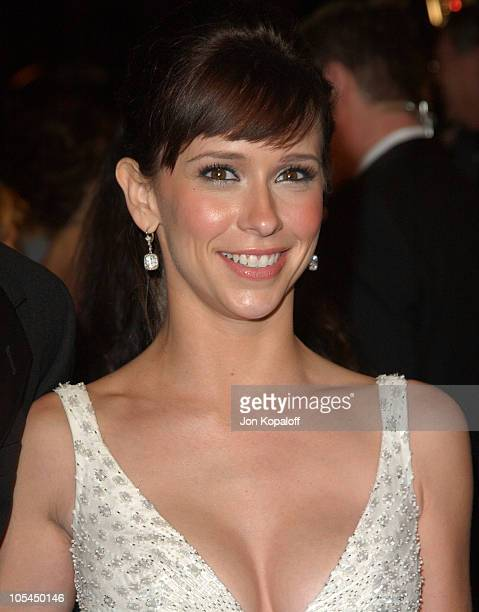 Jennifer Love Hewitt during 2005 Vanity Fair Oscar Party at Mortons in Los Angeles California United States