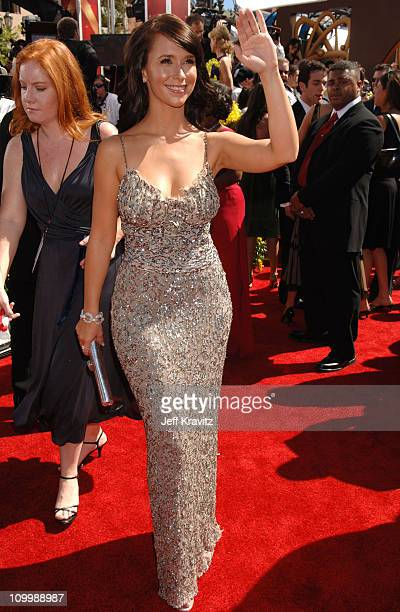 Jennifer Love Hewitt during 58th Annual Primetime Emmy Awards Red Carpet at The Shrine Auditorium in Los Angeles California United States