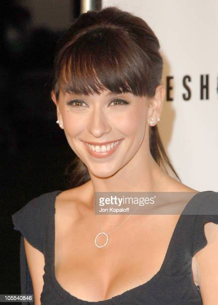 Jennifer Love Hewitt during 'Ghost Whisperer' and 'Threshold' Premiere Screenings at The Hollywood Forever Cementary in Hollywood California United...