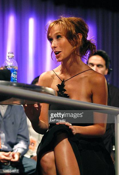 Jennifer Love Hewitt during MTV Bash Backstage and Audience at Hollywood Palladium in Hollywood California United States